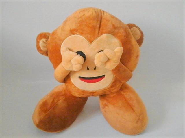 f2c46d36f244 See No Evil Monkey Teddy - Mojicon
